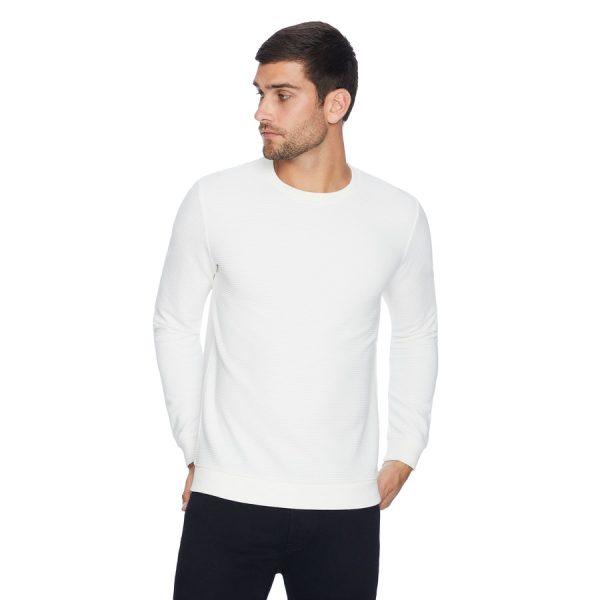 Fashion 4 Men - yd. Grand Textured Top White L