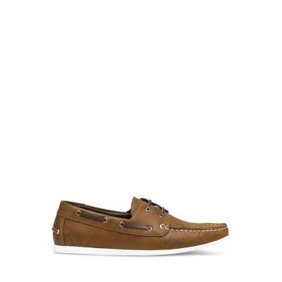 Fashion 4 Men - yd. Help Boat Shoe Tan Brown 9