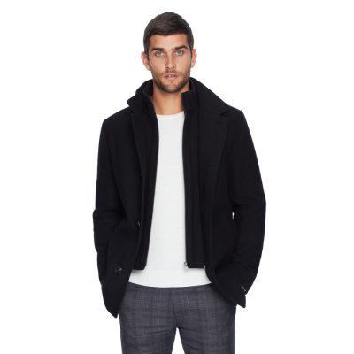 Fashion 4 Men - yd. Hemmingway Dress Jacket Black Xs