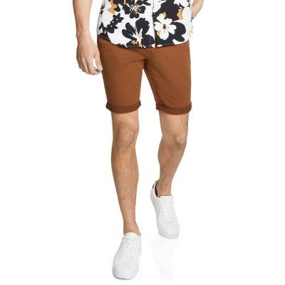 Fashion 4 Men - yd. Herston Chino Short Caramel 38