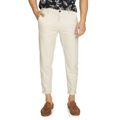 Fashion 4 Men - yd. Hoskins Cropped Pant Natural 28