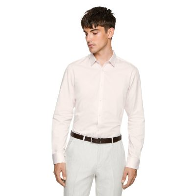 Fashion 4 Men - yd. Mission Slim Fit Dress Shirt Soft Pink Xs