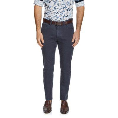Fashion 4 Men - Tarocash Benny Stretch 5 Pkt Pant Graphite 40