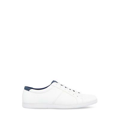 Fashion 4 Men - Tarocash Donnie Textured Lace Up Shoe White 9