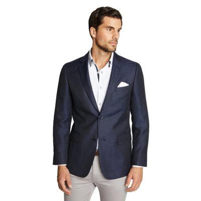 Fashion 4 Men - Tarocash Duke Linen Blazer Navy Xxxl