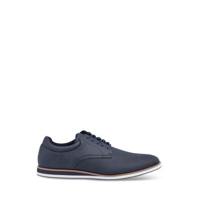 Fashion 4 Men - Tarocash Enzo Textured Lace Up Shoe Navy 9