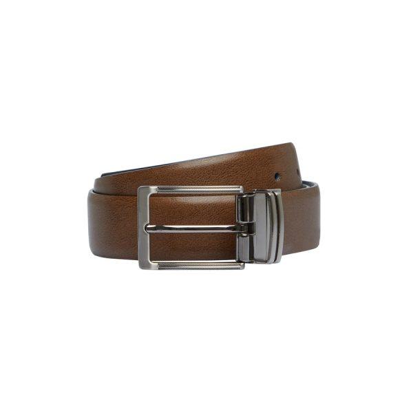 Fashion 4 Men - Tarocash Frankie Reversible Prong Belt Brown/Black 38