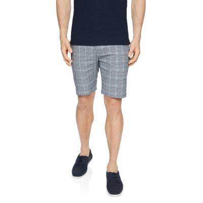 Fashion 4 Men - Tarocash Hallett Stretch Check Short Charcoal 34