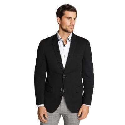 Fashion 4 Men - Tarocash Titan Textured Stretch Blazer Black Xl