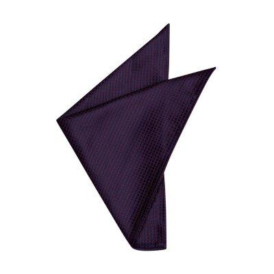 Fashion 4 Men - yd. Anders Pocket Square Burgundy One