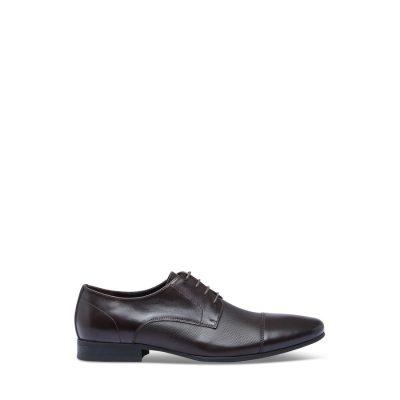 Fashion 4 Men - yd. Blake Textured Dress Shoe Chocolate 6