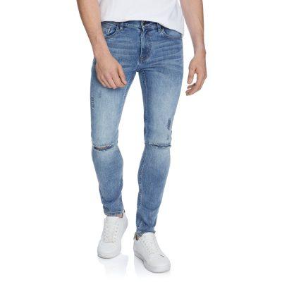 Fashion 4 Men - yd. Blaze Skinny Jean Light Blue 32