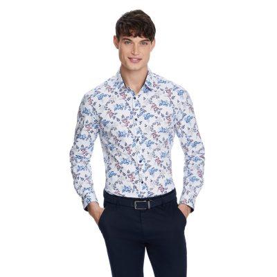 Fashion 4 Men - yd. Fairhall Slim Shirt Multi S