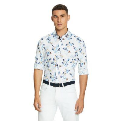 Fashion 4 Men - yd. Hampden Slim Shirt Multi 2 Xs