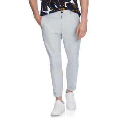Fashion 4 Men - yd. Kent Cropped Pant Grey 33