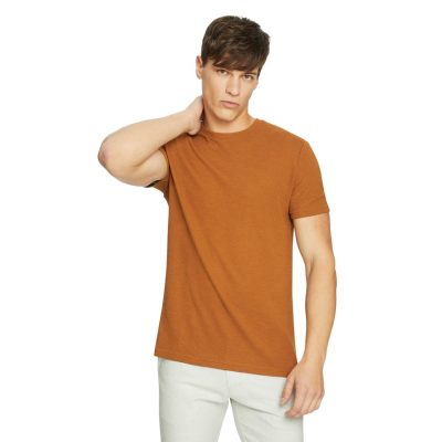 Fashion 4 Men - yd. Law Textured Tee Clay 2 Xs