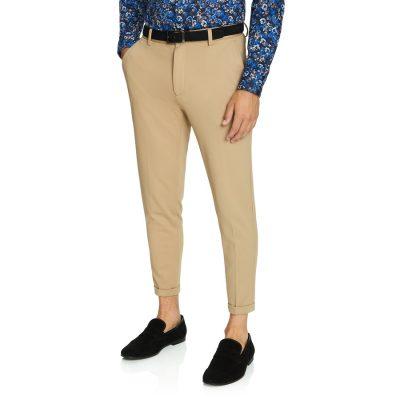 Fashion 4 Men - yd. Member Cropped Chino Caramel 28