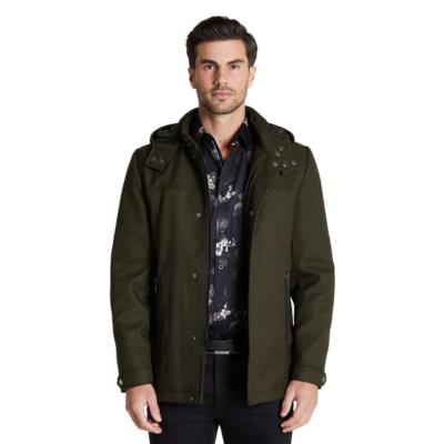 Fashion 4 Men - Tarocash Aberdeen Coat Khaki Xxxl