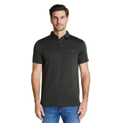 Fashion 4 Men - Tarocash Capri Luxe Touch Modal Polo Khaki Marle S