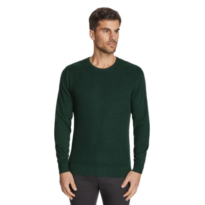 Fashion 4 Men - Tarocash Jackson Crew Neck Knit Emerald Xs