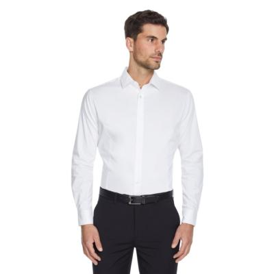 Fashion 4 Men - Tarocash Maxly Slim Stretch Dress Shirt White S
