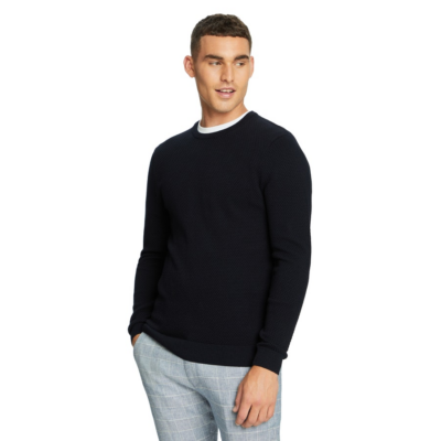 Fashion 4 Men - yd. Channing Knit Navy 2 Xs