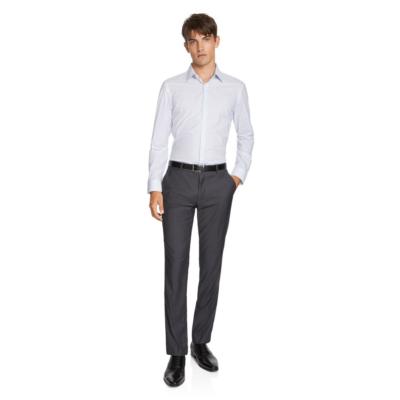Fashion 4 Men - yd. David Slim Dress Shirt Blue 2 Xs