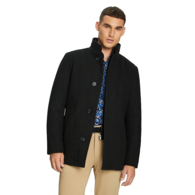 Fashion 4 Men - yd. Moscow Melton Jacket Black M