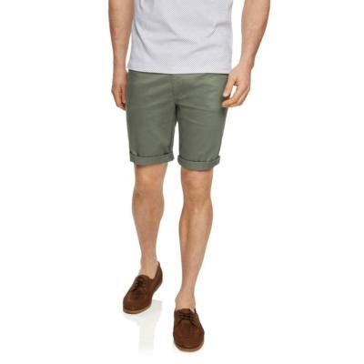 Fashion 4 Men - Tarocash Benji Stretch 5 Pocket Short Khaki 36