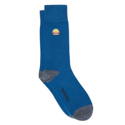 Fashion 4 Men - Tarocash Burger Sock Teal 1