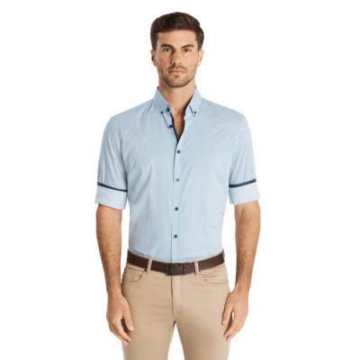Fashion 4 Men - Tarocash Jackson Print Shirt Blue Xs