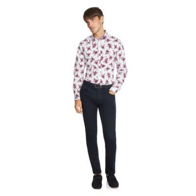 Fashion 4 Men - yd. Tatum Slim Shirt Multi M